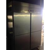 Refrigerador Industrial 4 Portas Inox