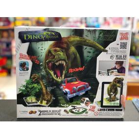 Dino Mundi Fúria T-rex 120 Pç Batalha Dos Dinossauros Em 3d