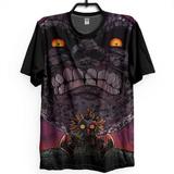 Camiseta Camisa Estampa Full 3d Zelda Majora c7919b96231