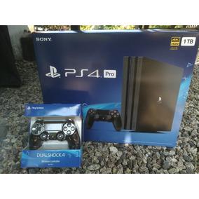 Preto Playstation 4 Ps4 Pro 1tb Console