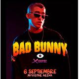 Entrada Bad Bunny Chile 06 Septiembre Movistar Arena