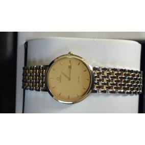 Reloj Omega De Ville Quartz Acero Y Oro