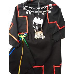 Traje De Mapuche Niña Talla 6 $ 14.000 C/u