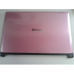 Philco 14d Carcaça Completa Com Tela E Teclado