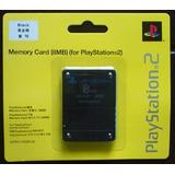 Memory Card 8 Mb Playstation 2 Ps2