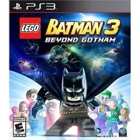 Lego Batman 3 Beyond Gotham Ps3 Psn Dublado Envio Na Hora
