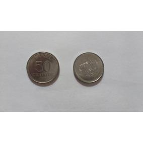 Loucura Moeda 50 Centavos De 1987 - Aço - República