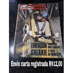 Revista Quatro Rodas 112 Novembro 1969 Galaxie Dodge Fusca