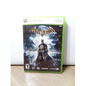 Batman Arkham Asylum Original Xbox 360 Seminovo
