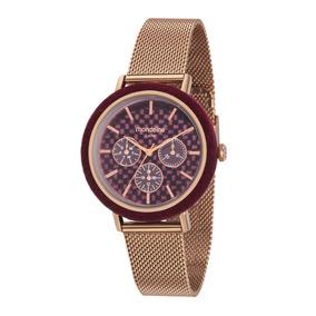 Relógio Feminino Mondaide 89011lpmvre3 Promo Verão