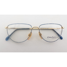 36eeb430fd4f8 Óculos Receituário Metal  raridade Karlo Ferrati Ev-543ov
