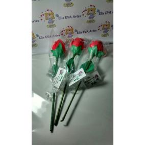 Lembrança Dia Das Mães Botão De Rosa Kit C/10 Unid Promocao