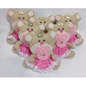 Ursinha Bebê - Decoração - Enfeite - Lembrancinhas
