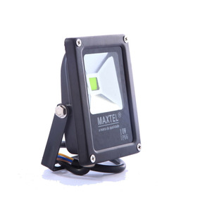 Refletor Led 10w Holofote Maxtel Branco Quente Bivolt Ip66