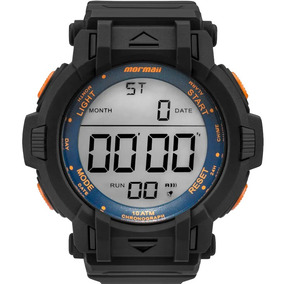 Relógio Mormaii Masculino Preto Digital Sport Mom08111d/8l