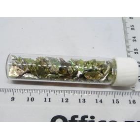 Mineral De Colección Bismuto Cristales Pequeños