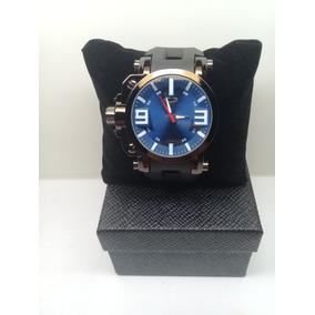 0c12d60ca39 Relogio Oakley Gearbox Dourado - Relógios no Mercado Livre Brasil