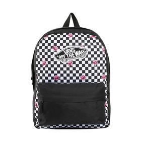 Mochila Original Bonita Vans Backpack Color Textil If855 A a8185e1ed79