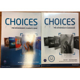 Choices Pre Intermediate Student S Book & Workbook Pearson