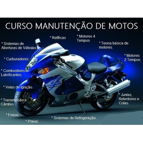 Curso Mecânica De Motos E Injeção Em 56 Dvds Vídeo Aulas A4