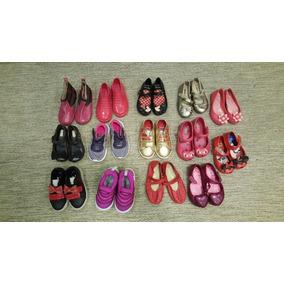 14 Pares Tênis Nike Sandálias Melissa Infantil Feminino
