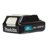 Bateria De Lítio 12v Max Slide Bl1016 1.5 Ah Cxt Makita