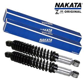 Amortecedor Moto Traseiro Cg Titan 150 Nakata (preço Par)