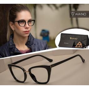 65490ac808575 Óculos Gatinho Juju Salimeni Brinde Case+flanela - Óculos no Mercado ...