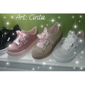 buy online 5b2cc d60b5 Zapatillas Nobukadas Con Cinta Chic Cinta