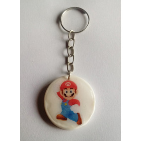 d05503b16ff19 Lembrancinhas Mario Bros Chaveiro Mario Bros (30unid)