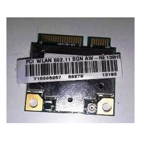 Placa Wifi Wlan 802.11 Bgn Model-aw-ne139hs - Envio Gratis