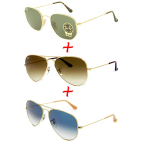 Ray Ban Hexagonal E Aviador Originais - Óculos no Mercado Livre Brasil e4b08fa198