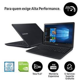 Notebook Samsung Core I7 8gb 1tb Placa Gráfica 2gb Tela 15,6