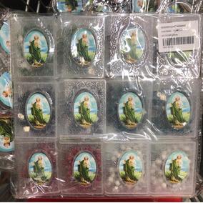 12 Rosarios En Caja San Judas Tadeo Con Olor