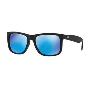 Óculos De Sol Ray Ban Justin Rb4165 Preto Masculino Polariza 1aeae4aa46