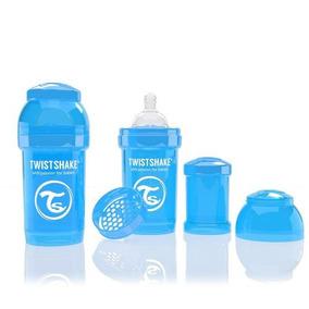 Biberón Anti-cólico Dosificador 180ml / 6onz Azul Twistshake