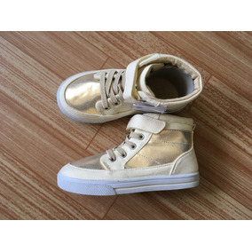013becb6 Zapatos Niña Deportivo Dorado Oshkosh Nuevo Talla 27 O 10