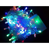 Pack X 10 Luz Led 100 Luces Navidad Decoracion 8 Efectos