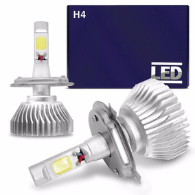 Kit Lampada Super Led H4 6000k Branca 12v E 24v 30/35w