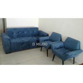 Sofa 3 Lugares E Poltronas