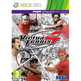 Virtua Tennis 4 Xbox 360 Mídia Física Lacrado