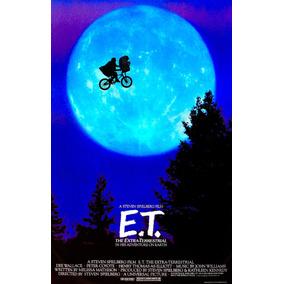 Cartaz Classico Filme Et O Extraterrestre Steven Spielberg