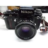 Câmera Nikon F3 Funcionando / Colecionador