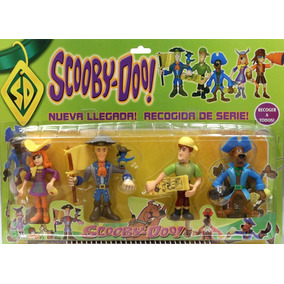 Kit 5 Bonecos Scooby Doo