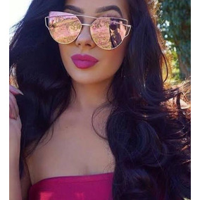 Oculos De Sol Espelhado Moda Starlight Rose - Óculos no Mercado ... c43ac748ff
