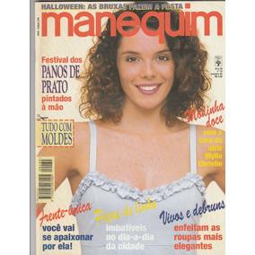 Revista Antiga Manequim Ano 36 Num 10 - Out 1995 - Au