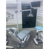 Cadeira Odontologica Gnatus Pintada E Estofada!