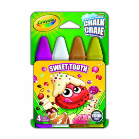 Tizas Lavables Crayola X4 unidades Sweet Tooth