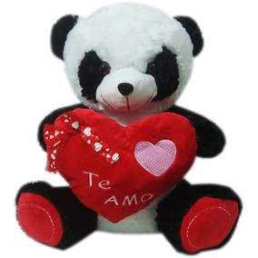 883b8143ee Urso Panda Em Pelúcia G Com Coração Eu Te Amo - Brinquedos e Hobbies ...