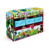 Organizador Juguetes Deluxe Niños Disney Mickey Mouse Delta